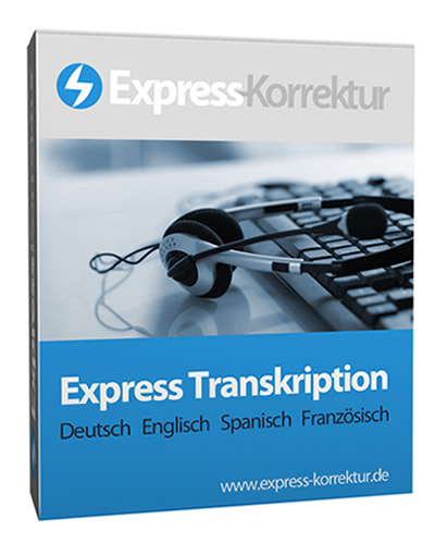 Express-Audio-Transkription Audiotranskription Transkription Transkribieren Transkriptor für wissenschaftlich Abschlussarbeiten - Studenten, Doktoranden - Interview, Interviews, Audio, Tonaufnahme, Bachelorarbeit, Masterarbeit, Diplomarbeit, Dissertation, Doktorarbeit, Summary, Zusammenfassung, Management Summary - Englisch, Deutsch, Spanisch, Französisch, Italienisch